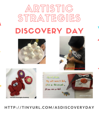 artistic strategies discovery day
