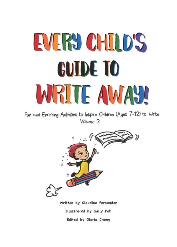 Colourful Cover of Every Child's Guide to Write Away (Volume 3)