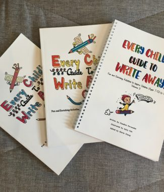 Every Child's Guide to Write Away! (Volumes 1,2 and 3)