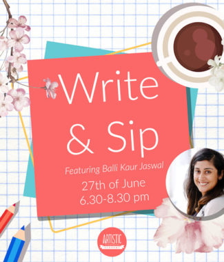 Write and Sip!